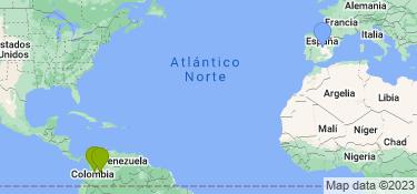 Mapa de los lugares en los que ha vivido este usuario