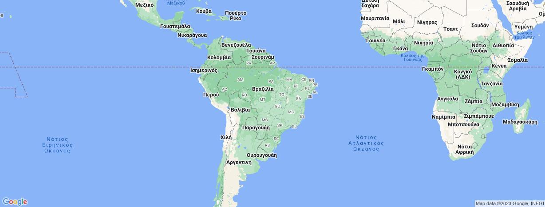 Βραζιλία: Χάρτης