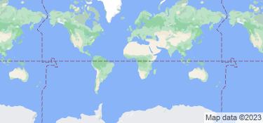 Carte des endroits où cet utilisateur a vécu